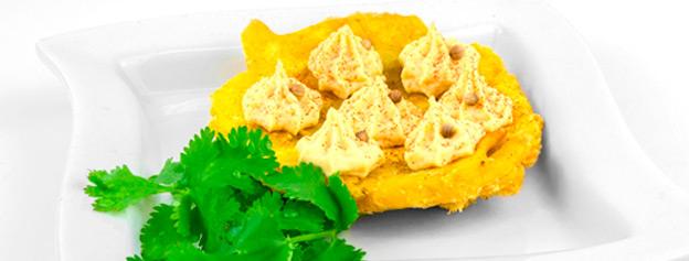 Tostón con gofio de millo y trigo