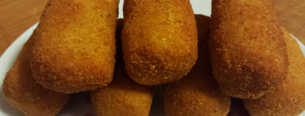 Fish and gofio croquettes