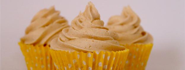 Gofio cupcakes