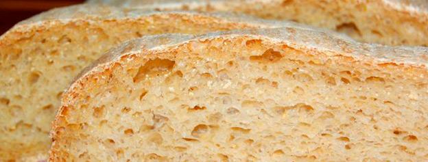 Bread with corn gofio