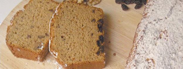 Gofio cake